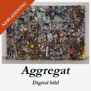 """Konstverk """"Aggregat"""" av Albin Liljestrand"""
