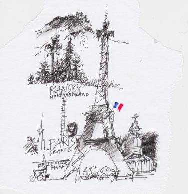 Från Ransby till Paris