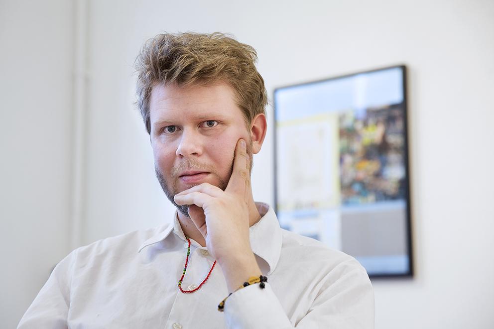 Albin Liljestrand, ställer ut på Galleri Bergman